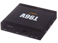 Android Smart TV Box T96V 2/16 GB S905W Black