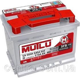Автомобильный аккумулятор MUTLU 6СТ-60 LB2.60.051.A