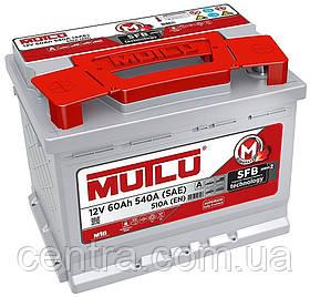 Автомобильный аккумулятор MUTLU 6СТ-60 LB2.60.051.B