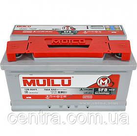 Автомобильный аккумулятор MUTLU 6СТ-80 LB4.80.074.A