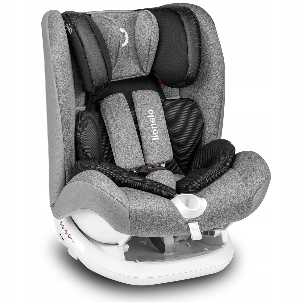 Детское автокресло для путешествий Lionelo Oliver Isofix 9-36 кг
