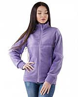 Теплая женская кофта на молнии (размеры XS-3XL в расцветках) фиолетовый, L