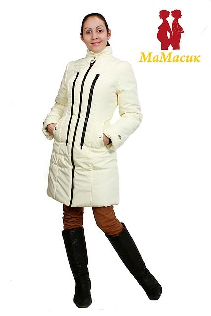 Пальто зимнее для будущих мам - HAPPY MAMA - одежда для беременных и  кормящих 0e1bf1c533793