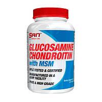 Хондопротекторы SAN Glucosamine Chondroitin with MSM 90 tabs