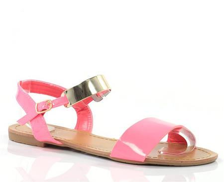 Женские босоножки Amia Pink!