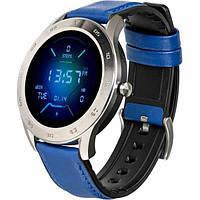 Умные часы (Smart Watch) Gelius Pro GP-L3 (URBAN WAVE 2020) с функцией пульсоксиметра, Silver / Dark Blue