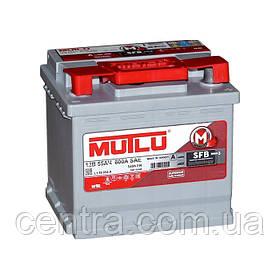 Автомобильный аккумулятор MUTLU 6СТ-55 LB1.55.054.A