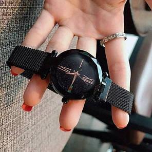 Женские наручные часы Sky Watch Черные, фото 2
