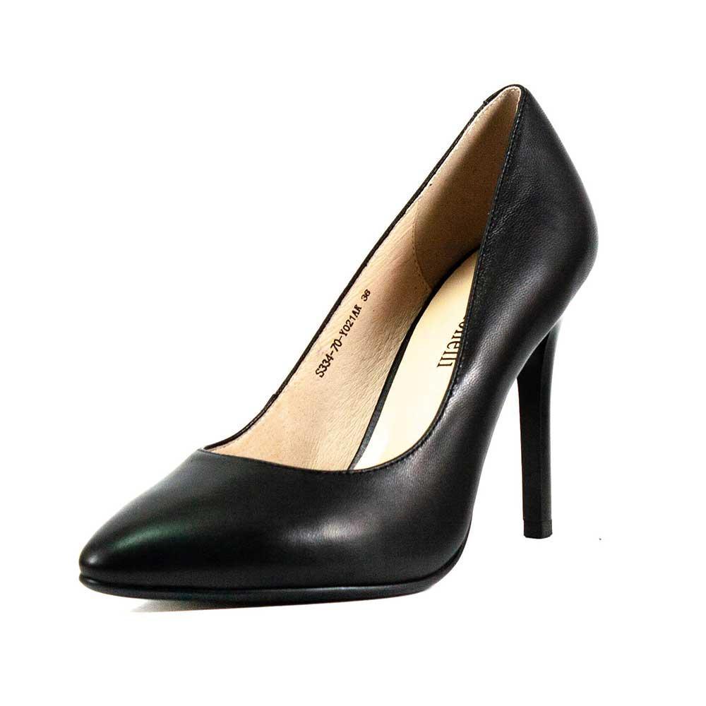 Туфли женские Fabio Monelli S334-70-Y021AK черная кожа (37)