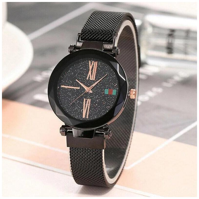 Женские наручные часы Sky Watch Черные