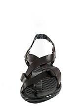 Сандалии женские TiBet 275-03-02 темно-коричневые (36), фото 3
