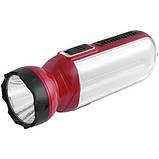 Аккумуляторный фонарь Yajia 1053, 1W+21SMD, фото 2