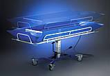 Ванна на тележке для мытья лежачих пациентов - Bath Trolley WLE-140P Electro for washing bedridden patients, фото 5