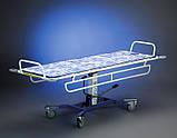 Ванна на тележке для мытья лежачих пациентов - Bath Trolley WLE-140P Electro for washing bedridden patients, фото 6