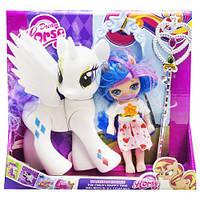 """Набор """"Dream Horse: лошадка и кукла-пони"""" (белый)  sco"""