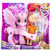 "Набор ""Dream Horse: лошадка и кукла-пони"" (розовый)  sco"