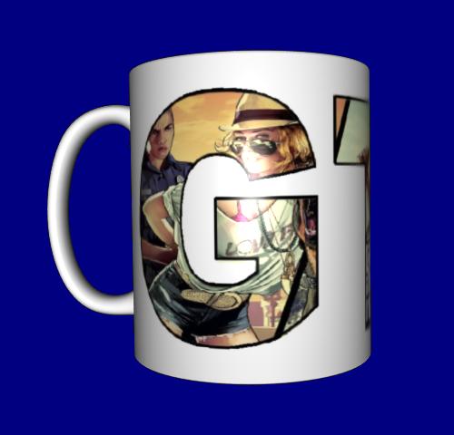 Кружка / чашка GTA