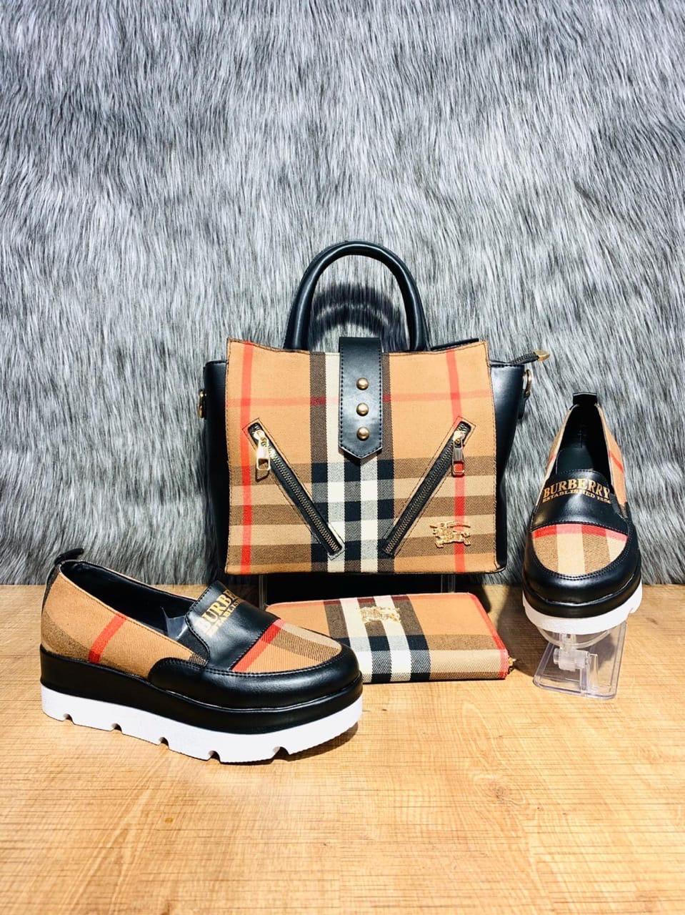 Набор: сумочка, обувь, кошелек