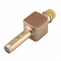 Беспроводной Bluetooth микрофон для караоке YS-68 Gold