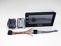 2din Магнитола Pioneer 7010 USB+SD+Bluetooth+ПУЛЬТ НА РУЛЬ (короткая база)