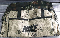Спортивные дорожные сумки военного окраса на змейках 52*30*28 см