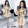Платье / костюмная ткань, гипюр / Украина 50-502
