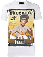 Брендовая футболка Dsquared2 Bruce Lee