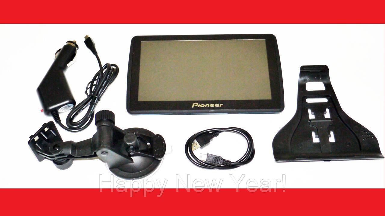 """7"""" GPS навигатор Pioneer 713 - 8gb 800mhz 256mb IGO+Navitel+CityGuide"""