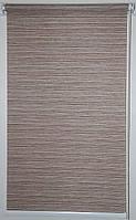 Готовые рулонные шторы Ткань Бомбей Карамель 700*1500
