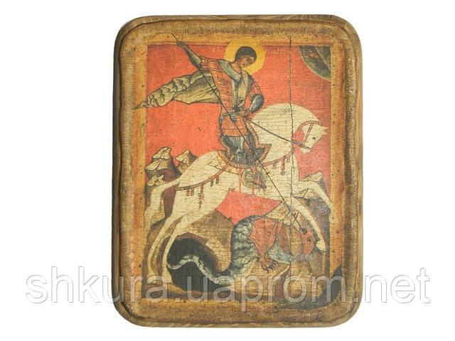 Икона Святой Георгий Победоносец ХVI в., фото 1