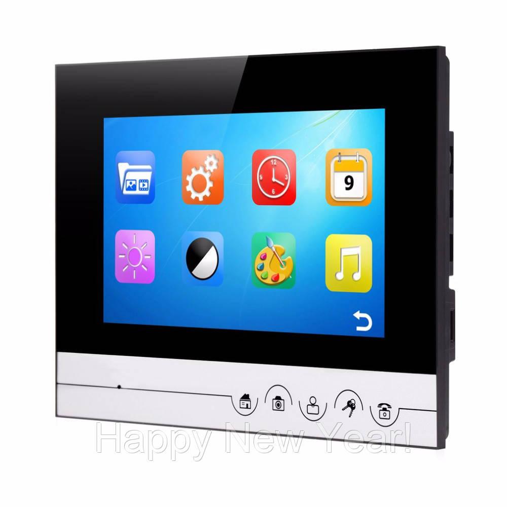 Домофон видеозвонок с картой памяти Intercom V70-RM