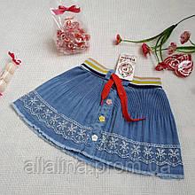 Юбка джинсовая для девочки (2-5 лет)