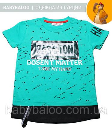"""Стильная футболка для мальчика """"POSSION"""" (от 5 до 9 лет), фото 2"""