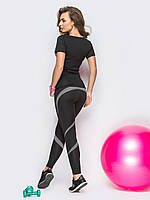 Комплект для фитнеса (футболка+лосины)