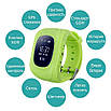 Baby Smart Watch Q50-Green, фото 7