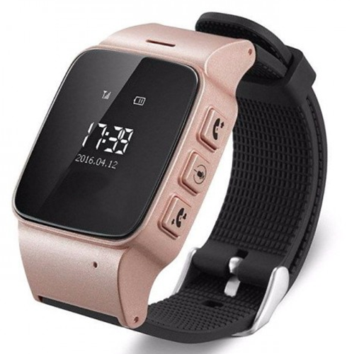 Детские Умные Смарт-Часы Телефон С Gps Smart Baby Watch D99 Розовые
