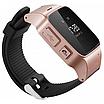 Детские Умные Смарт-Часы Телефон С Gps Smart Baby Watch D99 Розовые, фото 3