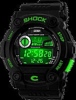 Спортивные часы Skmei 0907. Водонепроницаемые, ударопрочное стекло., фото 1