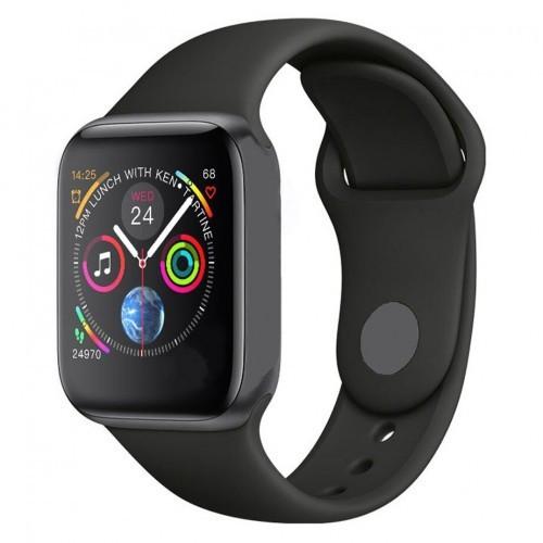 Умные Смарт Часы Supero Smart Watch W54 С Пульсометром Черные