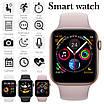 Умные Смарт Часы Supero Smart Watch W54 С Пульсометром Серебристо-Белый, фото 4