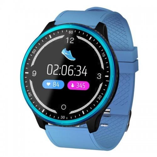 Умные Смарт Часы Supero Smart Watch P69 С Тонометром Синие