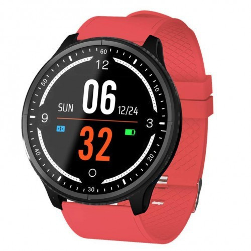 Умные Смарт Часы Supero Smart Watch P69 С Тонометром Красные