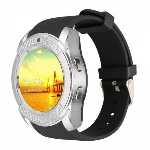 Умные Смарт Часы Supero Smart Watch V8 Серебро