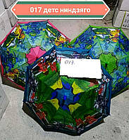 Детские зонты для мальчиков Ниндзяго