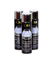 Краска ХРОМ BOSNY аэрозоль  эффект хром-серебро 227мл
