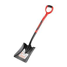 Лопата совковая, ручка из фибергласса, 238х282х1050 мм INTERTOOL FT-2014