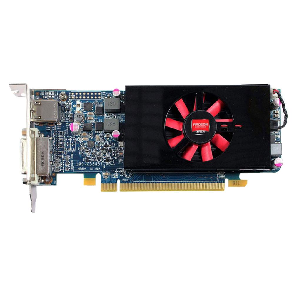 """Видеокарта AMD Radeon HD 7570 1Gb 128bit GDDR5 (Low profile) """"Б/У"""""""