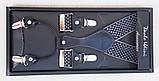 Подтяжки брючные мужские Paolo Udini с узором, фото 2