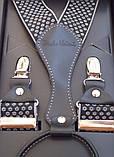 Подтяжки брючные мужские Paolo Udini с узором, фото 3