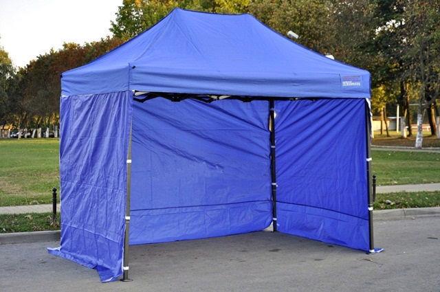 Торговый шатер раздвижной 2х3м, палатка Польша